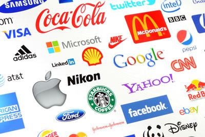 branded logos